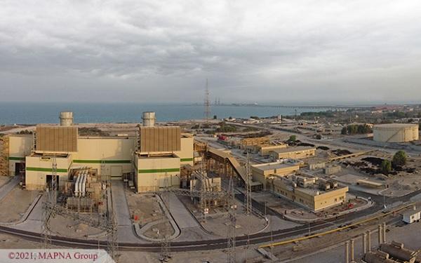بهرهبرداری تجاری واحد اول نیروگاه سیکل ترکیبی کلاس F بندرعباس